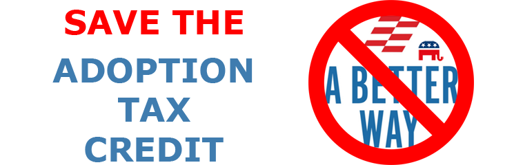 Proposed Tax Reform To Eliminate The Adoption Tax Credit